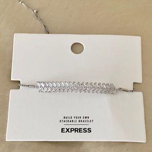 Express Adjustable Silver Bracelet